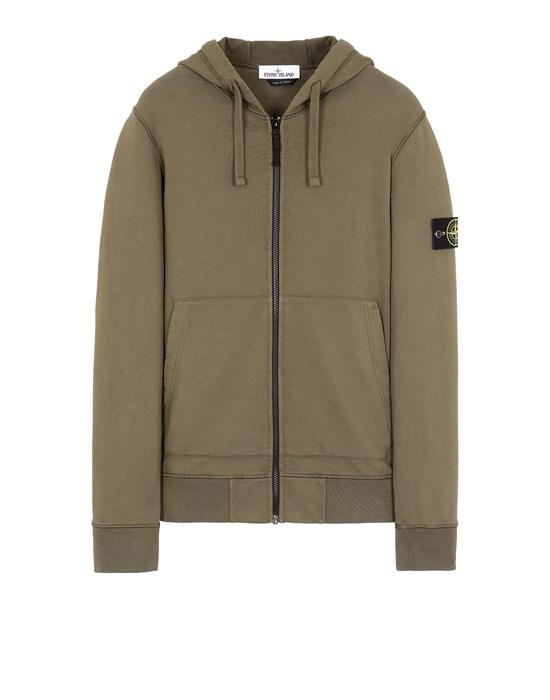 STONE ISLAND 64251 Sweatshirt Man Olive Green