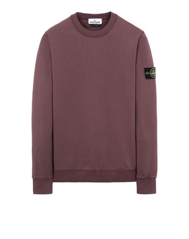 STONE ISLAND 63051 Sweatshirt Man Dark Burgundy USD 202