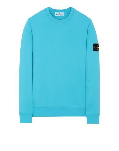 STONE ISLAND 63051 Sweatshirt Man Turquoise USD 236