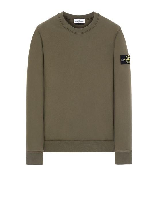 STONE ISLAND 63051 Sweatshirt Man Olive Green