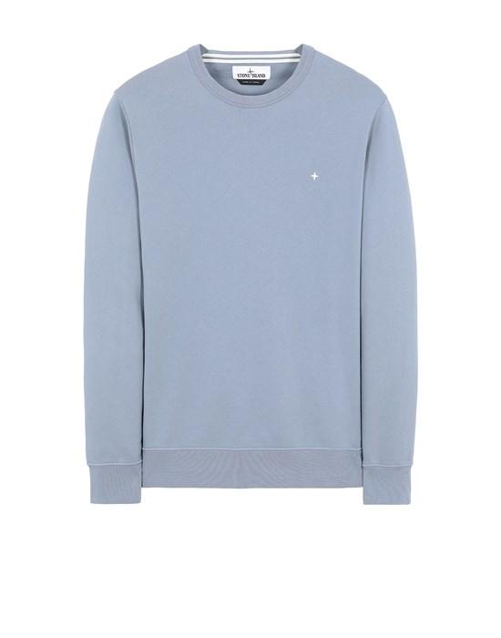 STONE ISLAND 60851 Sweatshirt Man Pastel Blue