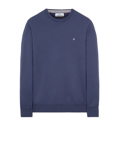 STONE ISLAND 60851 Sweatshirt Man Avio Blue EUR 154