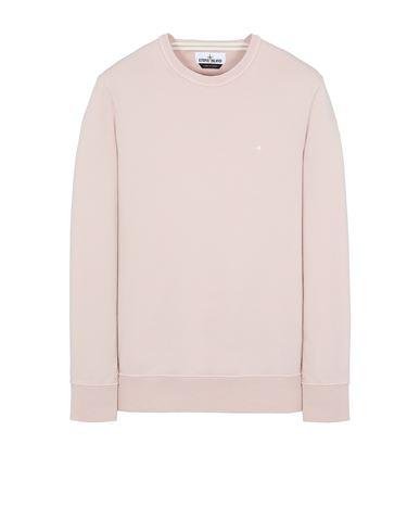 STONE ISLAND 60851 Sweatshirt Man Pastel pink EUR 199