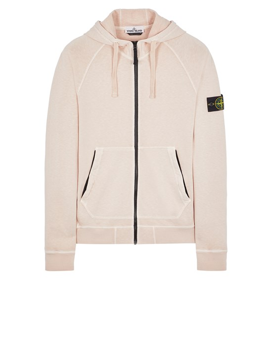 Sold out - STONE ISLAND 61560 T.CO 'OLD' Sweatshirt Man Pastel pink