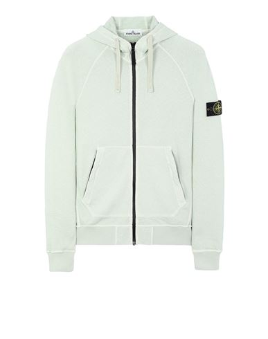 STONE ISLAND 61560 T.CO 'OLD' Sweatshirt Man Light Green EUR 295