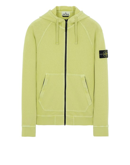STONE ISLAND 61560 T.CO 'OLD' Sweatshirt Man Pistachio Green