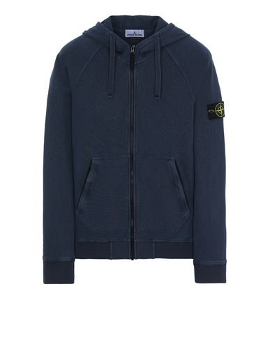 STONE ISLAND 61560 T.CO 'OLD' Sweatshirt Man Avio Blue EUR 313
