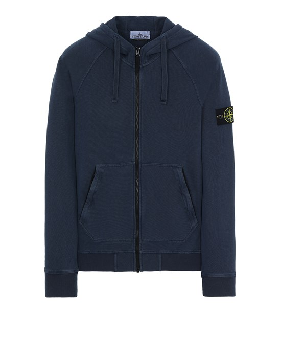 STONE ISLAND 61560 T.CO 'OLD' Sweatshirt Man Avio Blue