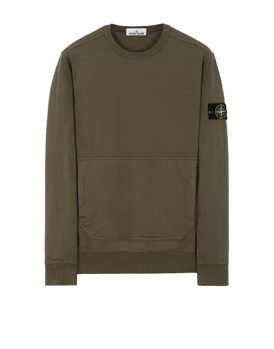 STONE ISLAND 60750 Sweatshirt Man Olive Green