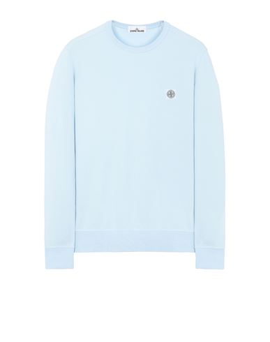 STONE ISLAND 65037 Sweatshirt Man Sky Blue USD 245