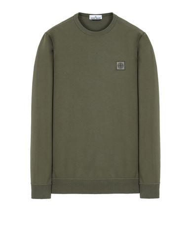 STONE ISLAND 65037 Sweatshirt Herr Olivgrün EUR 209