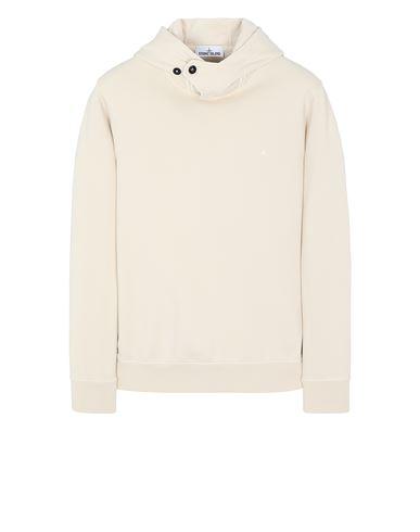 STONE ISLAND 60151 Sweatshirt Man Ivory USD 245