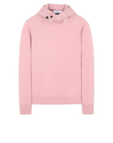 STONE ISLAND 60151 Sweatshirt Man Pink Quartz USD 245