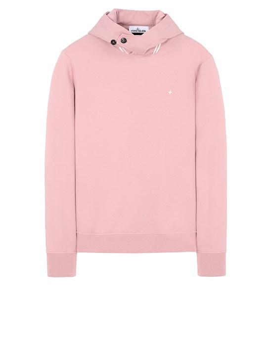 STONE ISLAND 60151 Sweatshirt Man Pink Quartz