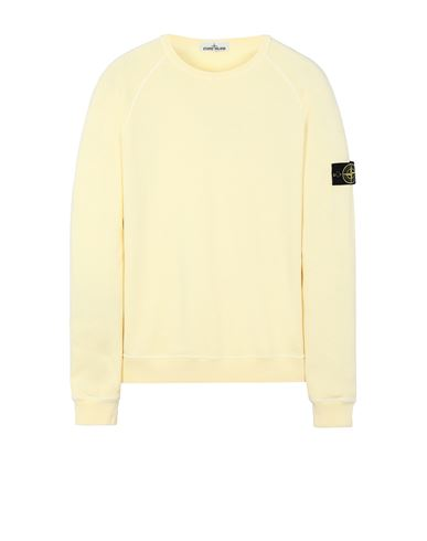 STONE ISLAND 66060 T.CO 'OLD' Sweatshirt Man Lemon USD 314