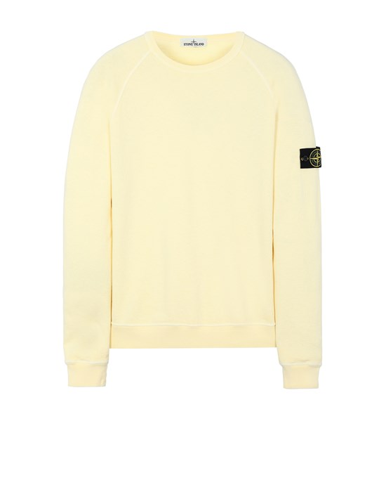 STONE ISLAND 66060 T.CO 'OLD' Sweatshirt Man Lemon