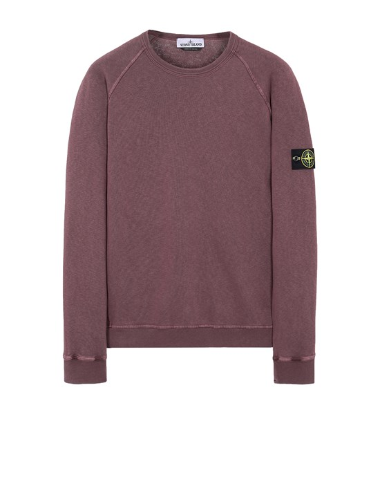 STONE ISLAND 66060 T.CO 'OLD' Sweatshirt Man Dark Burgundy