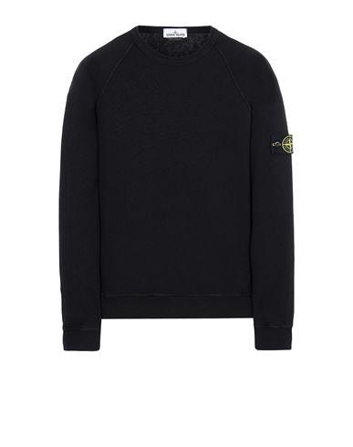 STONE ISLAND 66060 T.CO 'OLD' Sweatshirt Man Black EUR 209