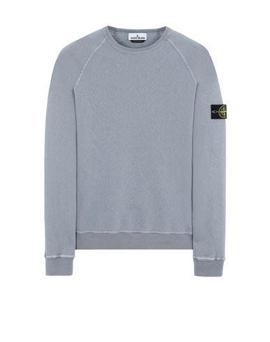 STONE ISLAND 66060 T.CO 'OLD' Sweatshirt Man Pastel Blue EUR 209