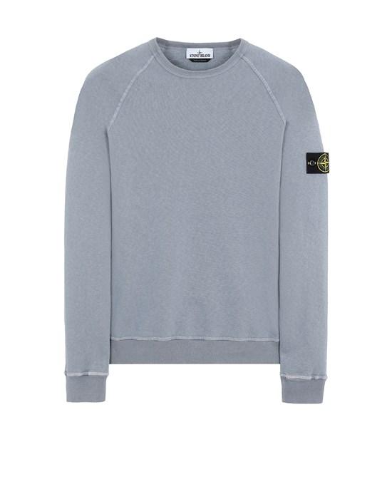 STONE ISLAND 66060 T.CO 'OLD' Sweatshirt Man Pastel Blue
