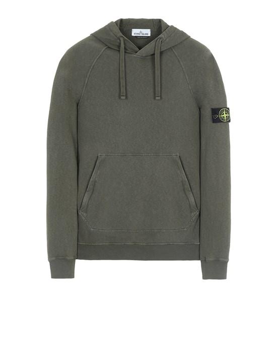 Sweatshirt Man 63860 T.CO 'OLD' Front STONE ISLAND
