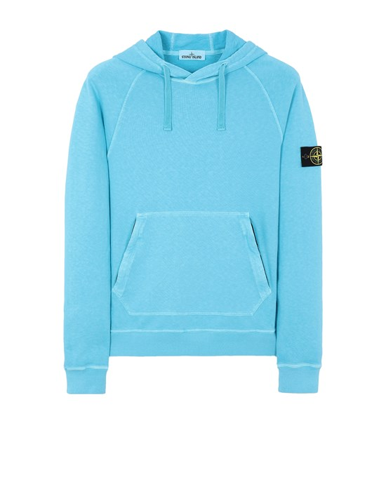 STONE ISLAND 63860 T.CO 'OLD'  Sweatshirt Man Turquoise