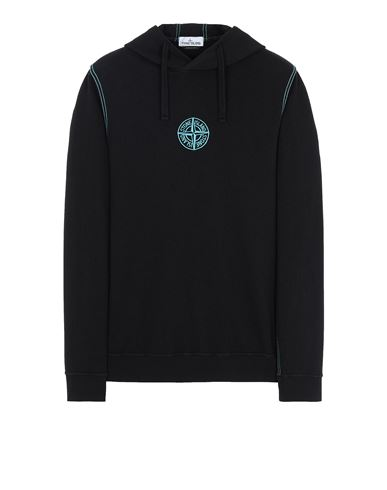 STONE ISLAND 61159 Sweatshirt Man Black USD 285