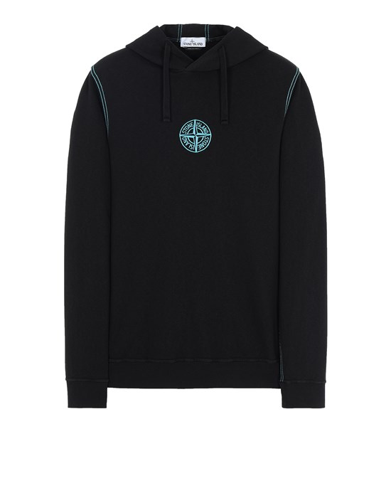 STONE ISLAND 61159 Sweatshirt Man Black