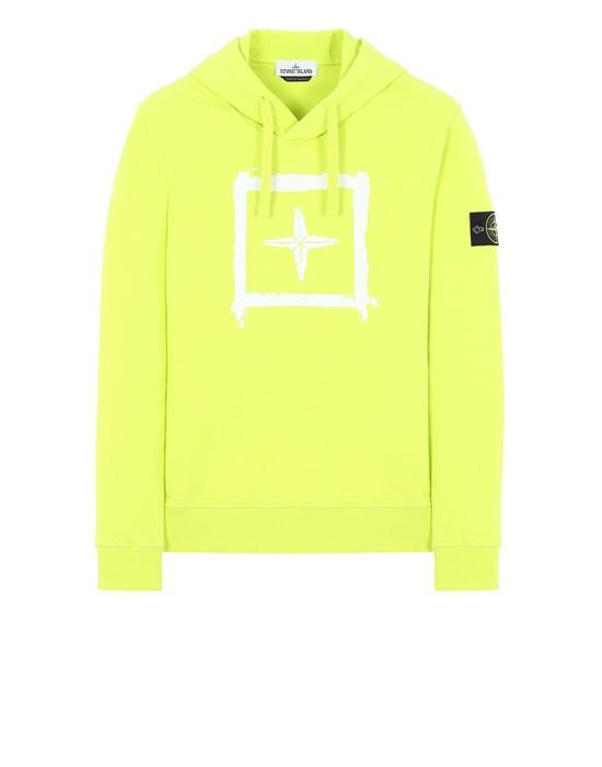 Sweatshirt Herr 65894 'STENCIL SWEATSHIRT' Front STONE ISLAND