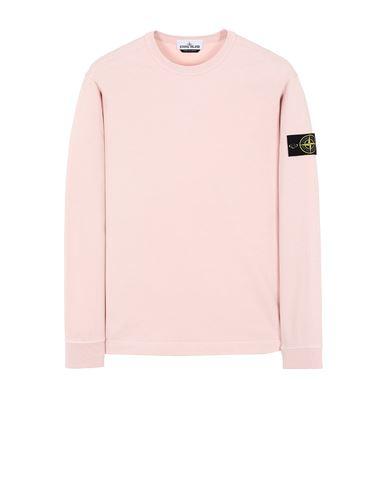 STONE ISLAND 64450 Sweatshirt Man Pastel pink EUR 185