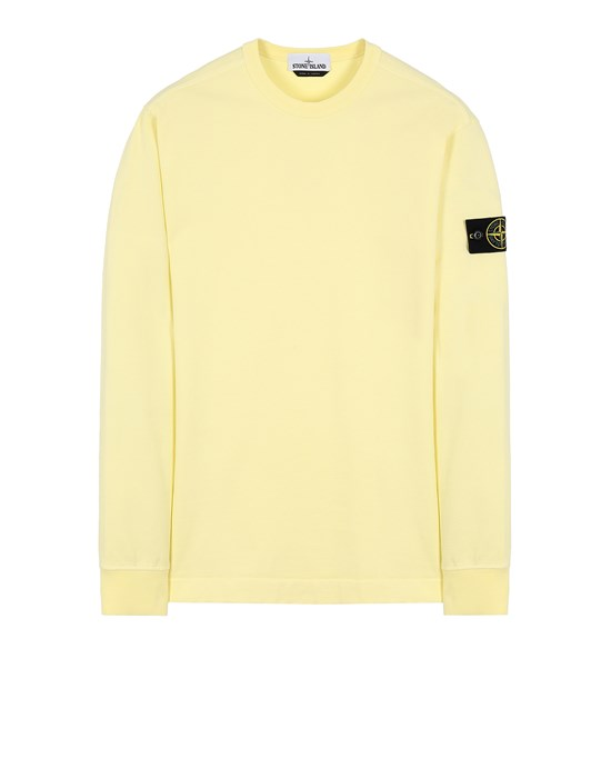 STONE ISLAND 64450 Sweatshirt Man Lemon