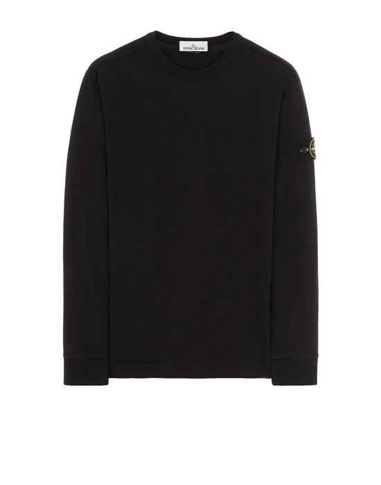 STONE ISLAND 64450 Sweatshirt Man Black