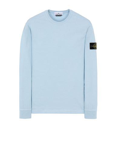 STONE ISLAND 64450 Sweatshirt Man Sky Blue EUR 185