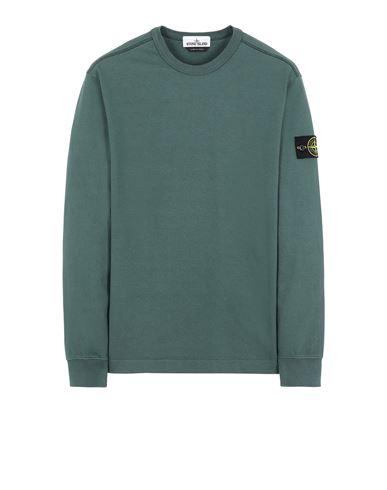 STONE ISLAND 64450 Sweatshirt Man Dark Teal Green USD 192
