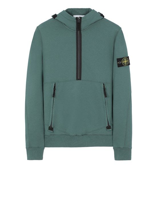 STONE ISLAND 60451 Sweatshirt Man Dark Teal Green