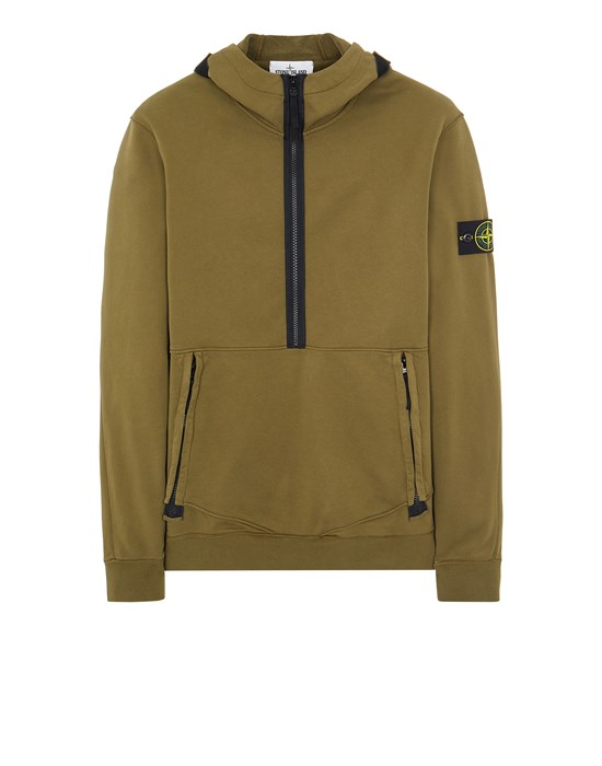 STONE ISLAND 60451 Sweatshirt Man Olive Green