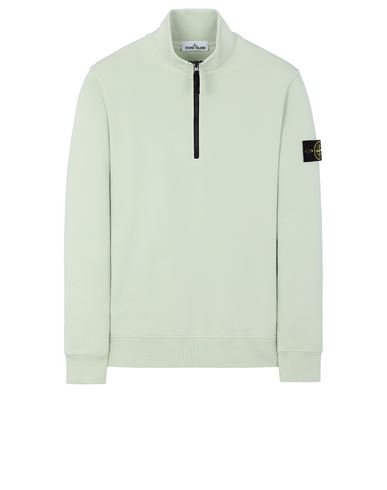 STONE ISLAND 61951 Sweatshirt Man Light Green EUR 241