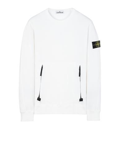 STONE ISLAND 63451 Sweatshirt Man White USD 278