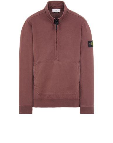 STONE ISLAND 63750 Sweatshirt Man Dark Burgundy USD 389