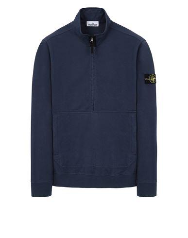 STONE ISLAND 63750 Sweatshirt Man Avio Blue EUR 265