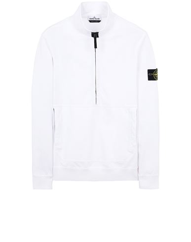 STONE ISLAND 63750 Sweatshirt Man White USD 389