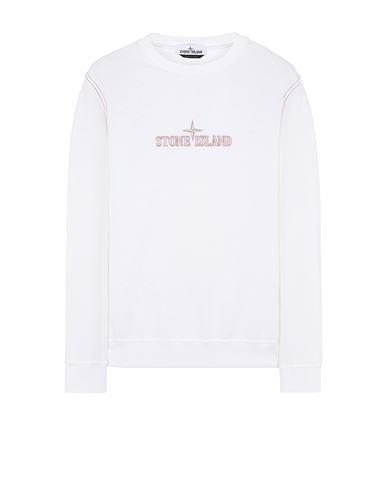 STONE ISLAND 61459 Sweatshirt Man White USD 251