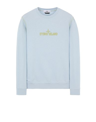 STONE ISLAND 61459 Sweatshirt Man Sky Blue USD 225