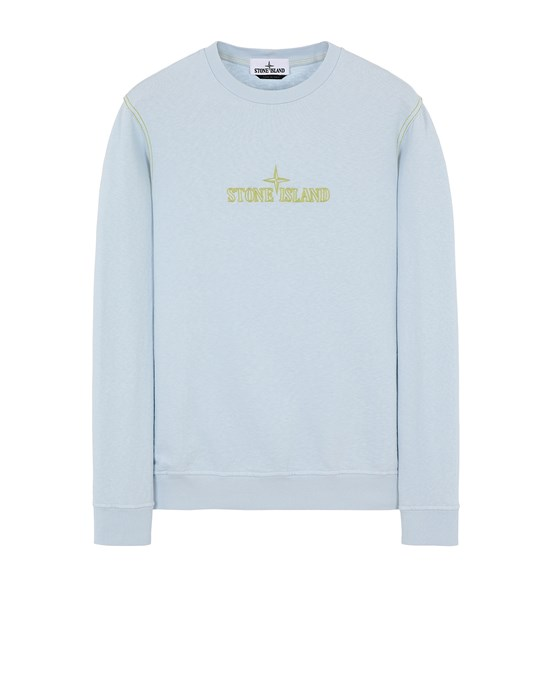 STONE ISLAND 61459 Sweatshirt Man Sky Blue