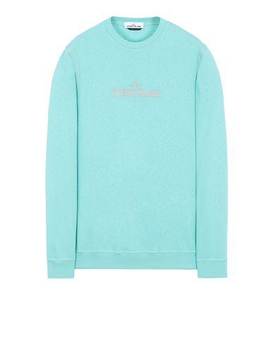 STONE ISLAND 61459 Sweatshirt Man Aqua EUR 215