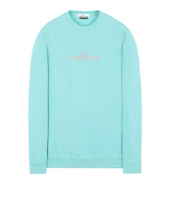 STONE ISLAND 61459 Sweatshirt Man Aqua
