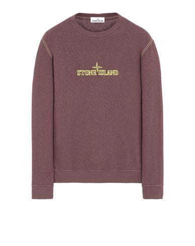 STONE ISLAND 61459 Sweatshirt Man Dark Burgundy USD 225
