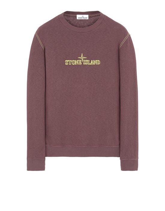 STONE ISLAND 61459 Sweatshirt Man Dark Burgundy
