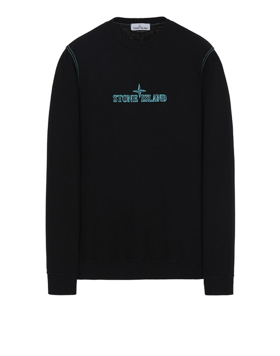 STONE ISLAND 61459 Sweatshirt Man Black