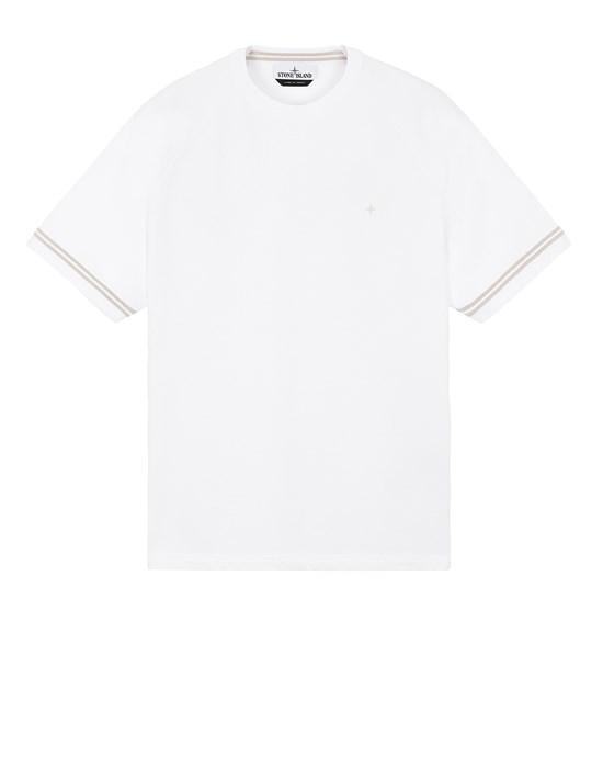 STONE ISLAND 60651 Sweatshirt Man White